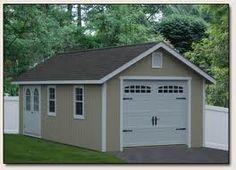 1000 images about garage on pinterest detached garage for 1 car detached garage