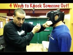 4 Ways to Knock Someone Out - Street Tested and Proven Self Defense