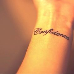 Wrist tattoo-totally want this