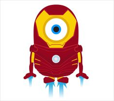 Minion Ironman  A Cute Collection Of Despicable Me 2 Minions   Wallpapers, Images & Fan Art