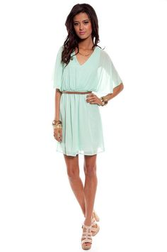 love flowy mint dresses