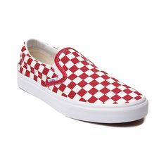 vans red checkerboard
