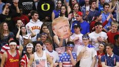 "In high school basketball games 400 miles apart, spirited rivalry gave way to racial strife when some students chanted ""Trump"" as an epithet directed at Latino students."
