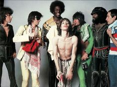 The Rolling Stones - Los Angeles; 1975 (Annie Leibovitz)