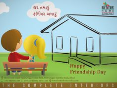 #BetterHome #Furniture wishes you a Happy #FriendshipDay !!!