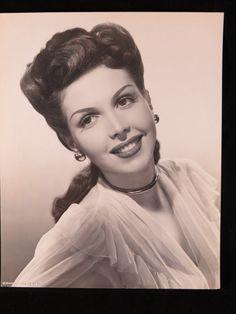 Ann Miller 1940s Actress Movie Original Press Wire Vintage Photo 8x10 BW A5 | eBay