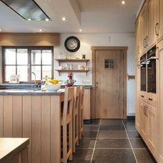 Landelijke houten keuken landelijke keuken in massieve eik pinterest - Redo keuken houten ...
