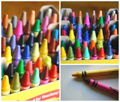 teaching a child to color...