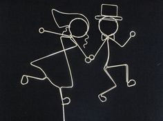 SO HAPPY TOGETHER Fun Couple Wedding Cake by HeatherBoydWire, $39.00