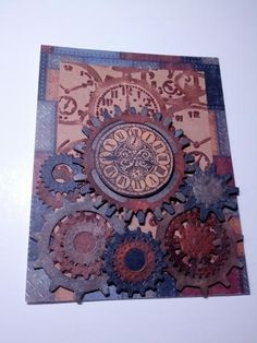 Steampunk Card by papercrafteddesigns for $5.00 #zibbet #steampunk