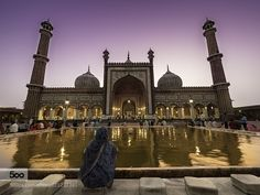 Faithful at the Jama Masjid by venkat_an. Please Like http://fb.me/go4photos and Follow @go4fotos Thank You. :-)