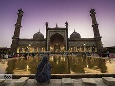 Faithful at the Jama Masjid by venkat_an. Please Like http://fb.me/go4photos and Follow @go4fotos Thank You. :-)