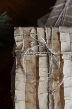 brown paper....