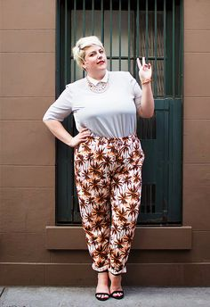 10 Plus-Size Street Style Stars to Follow Right Now via @WhoWhatWearUK