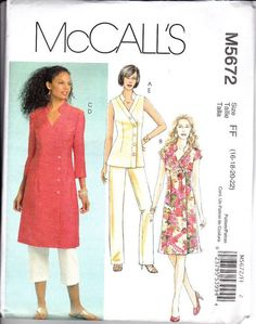 Pajama Patterns for Women   17 Best images about Pattern Library - 2000's - Ladies Dresses on ...