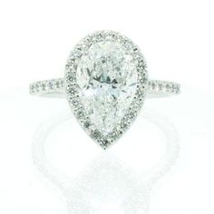 Mom, Sara I want Jorge to make this for my night of the wedding gift with me tear shaped aquamarine :)