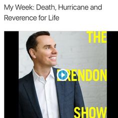 It's a sad one but real. New episode is up. #TheBrendonShow is up. Podcast.brendon.com