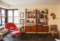 Eclectic living with Ikea fornitures
