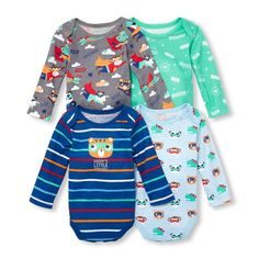 The Children's Place Baby Boys Superhero Long Sleeve Layette Set -- Learn more by visiting the image link. (This is an affiliate link) Newborn Boy Clothes, Newborn Outfits, Baby Boy Newborn, Baby Boy Outfits, Baby Boys, Baby Bath Time, Little Boy Fashion, Children's Place, Superhero