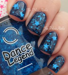 Unnamed glitter from Dance Legend Rio Collection, swatched by ThePolishAholic