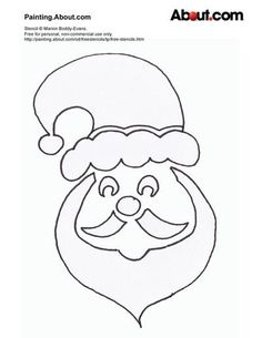 Here Are Your Free Christmas Stencils!