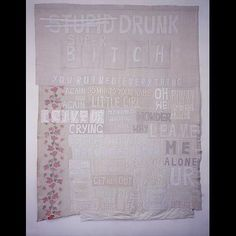 Tracy Emin – Applique Blankets | Knit, purl and stitch