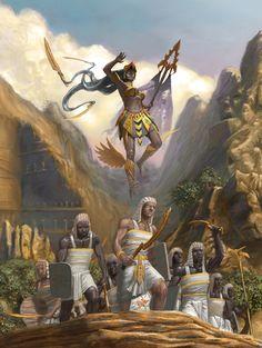 War Goddess updated by ~JoeSlucher on deviantART