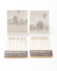 Landscape Matchbooks