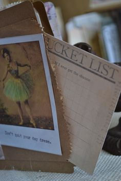 Bucket List - Gypsy Moments Cards - #capturethemoment