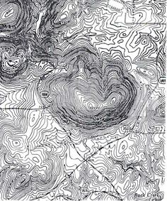 Topographical map | want this in tattoo form... Maybe of Nord Rhein Westfalen