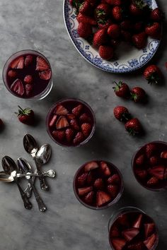 Red Wine and Strawberry Jelly - From My Dining Table By Skye McAlpine