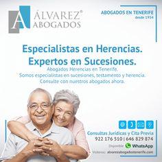 Especialistas en Herencias. Expertos en Sucesiones. Consulte con nuestros abogados en Tenerife ahora. Somos especialistas en sucesiones, testamento y herencia. https://alvarezabogadostenerife.com/?p=5189