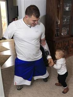 Travis Mills...American Soldier who lost 4 limbs in Afghanistan returns home to hero's welcome