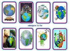 ΚΑΡΤΕΣ ΕΥΑΙΣΘΗΤΟΠΟΙΗΣΗΣ ΓΙΑ ΤΟ ΠΕΡΙΒΑΛΛΟΝ Earth Day, Environment, Frame, Blog, Picture Frame, Blogging, Frames