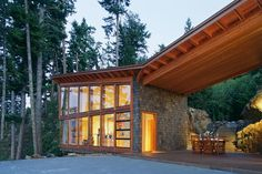 Bowen Island House in Vancouver by Sturgess Architecture