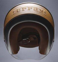 Listen, if I have to risk helmet hair I'm gonna do it in style - Ferrari Helmet Style. An homage to the historic Maranello tradition, the Scooter Helmet, Motorcycle Helmets, New Ferrari, Ferrari Logo, Helmet Hair, Head Hunter, Italian Lifestyle, Helmet Design, Italian Style