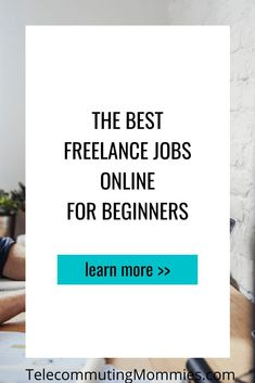 Freelance jobs are great for those wanting to work from home online or even those that need a second job in their free time. Find out the best freelance jobs online for beginners. Legitimate Work From Home, Work From Home Jobs, Ways To Earn Money, Earn Money From Home, Freelance Sites, Home Blogs, Second Job, Time Management Tips, Online Jobs