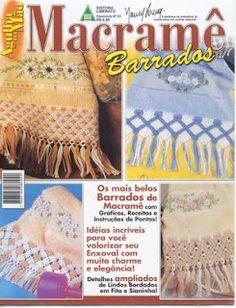 Macramê - Barrados de toalhas