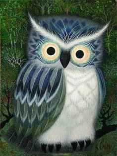 Owl by K. Chin - hiboux photo