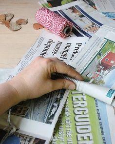 seksti delt på fem: tennbrikker - julegave-DIY White Out Tape, Diy, Bricolage, Do It Yourself, Homemade, Diys, Crafting