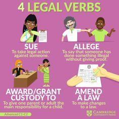 English Vocabulary Exercises, Advanced Vocabulary, Advanced English Vocabulary, English Vocabulary Words, English Phrases, Advanced English Grammar, Teaching English, Improve English, Learn English