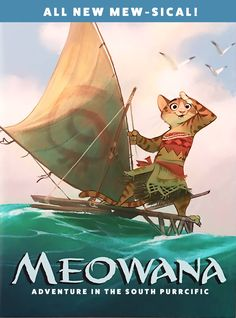Nice poster Meowana from Zootopia<-----its Meowana and she goes on an adventure with Mewui XD animals silly animals animal mashups animal printables majestic animals animals and pets funny hilarious animal Disney Fan Art, Disney Fun, Disney Pixar, Walt Disney, Disney Movie Quotes, Disney Movies, Disney Characters, Moana Memes, New Disney Princesses