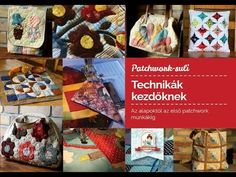Patchwork kezdőknek – gépi applikálás | Patchwork Design Patchwork Designs, Hobbit, Techno, Make It Yourself, Blog, Blogging, The Hobbit, Techno Music