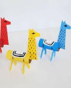 Let the children add llama hair by gluing on pieces of yarn 1600 x 1201 · 201 kB · jpeg Llama Toilet Paper Roll Crafts DIY Llama Craft DIY 750 x 612 · 213 kB ·. Kids Crafts, Projects For Kids, Diy For Kids, Diy Projects, Toilet Paper Roll Crafts, Cardboard Crafts, Paper Crafts, Craft Activities, Hello Kitty