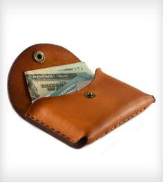 Small Leather Pocket Wallet