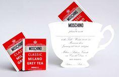 Moschino invite to runway show