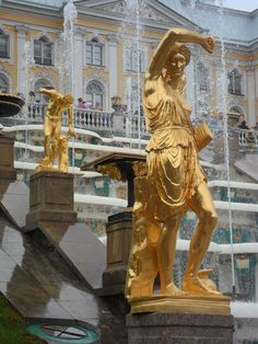 The Peterhof Palace, St. Petersburg, Russia