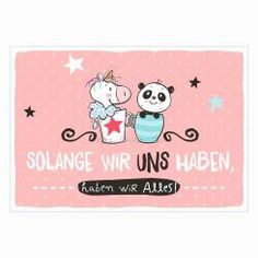 Postkarte »Uns«
