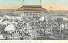 old picture of minnesota | PFF - Old View of Minnesota State Fair Grounds