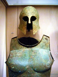 Ancient Spartan Warriors armor | Recent Photos The Commons Getty Collection Galleries World Map App ...